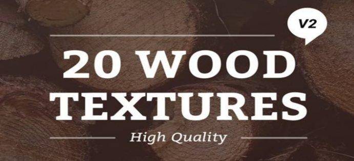 بافت و الگوهای چوبی رایگان